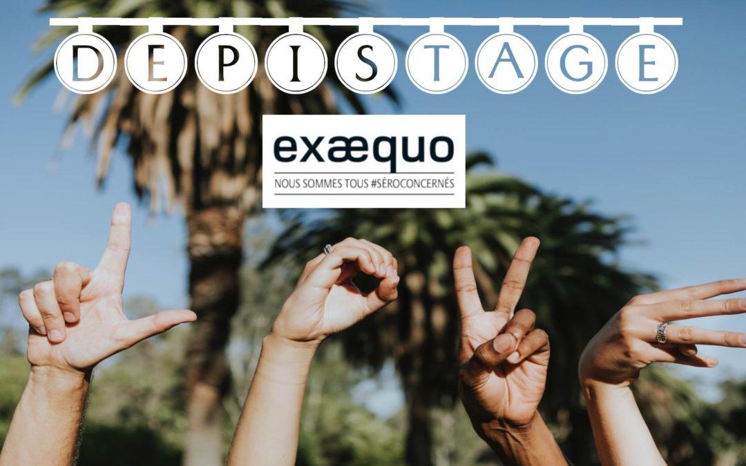 Permanence d'Ex Aequo – Test VIH/Syphilis/VHC : Gratuit, Rapide, Confidentiel