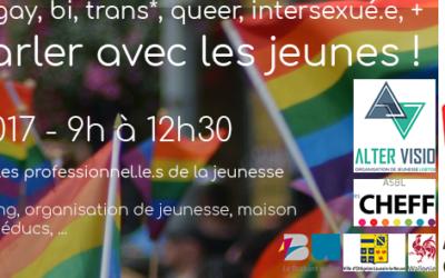 Homo, bi, trans, en parler avec les jeunes en Brabant wallon !